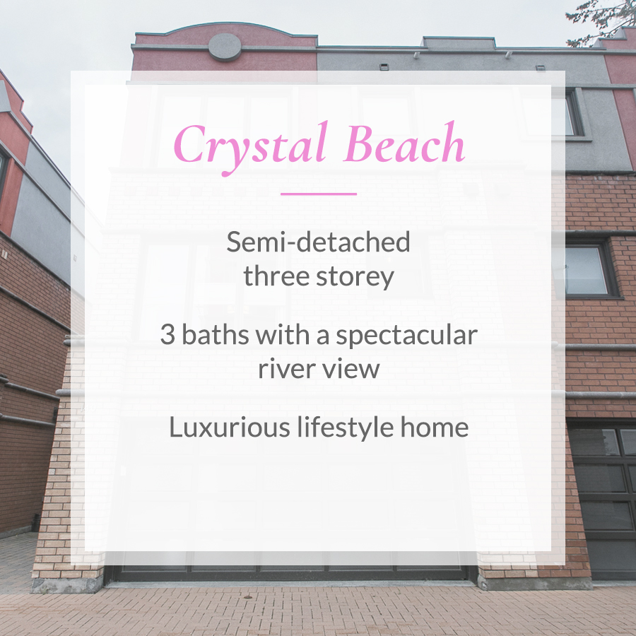 Sold card for Crystal Beach semi-detached